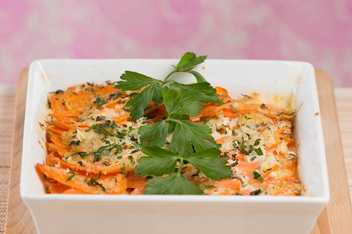 Karotten-Gratin