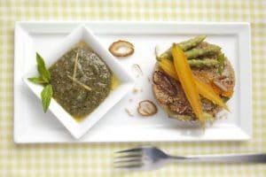 Couscous mit Spargel