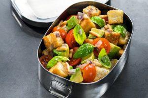 Veganer Ciabatta-Salat