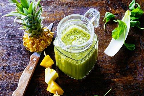 Fruchtiger grüner Smoothie