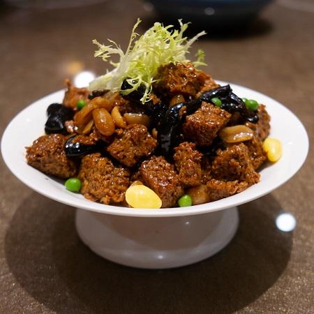 Koufu (Wheat Gluten) Dish von Memm, lizenziert gemäß CC BY-SA 4.0