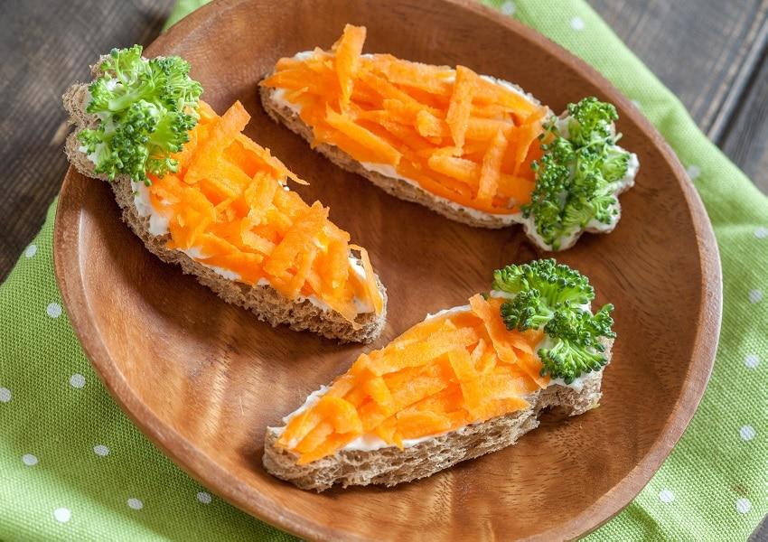 Karottenlachs – veganer Lachs aus Möhren