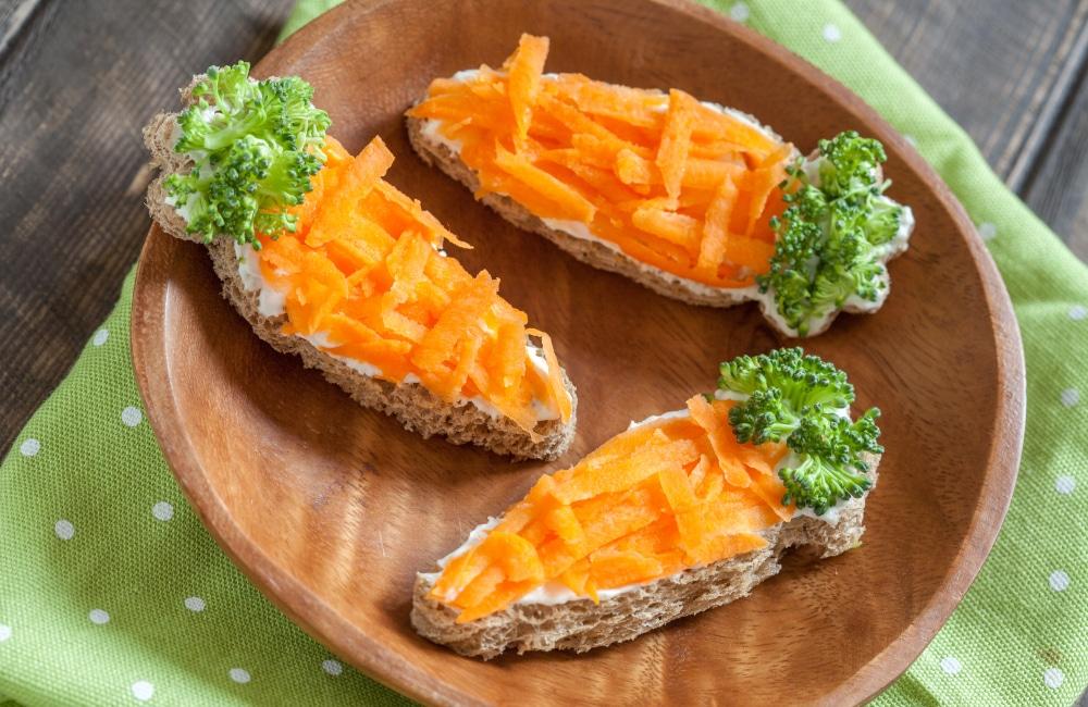 Veganer Karottenlachs aufs Brot