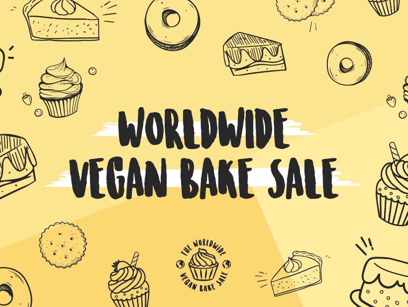 Worldwide vegan bake sale