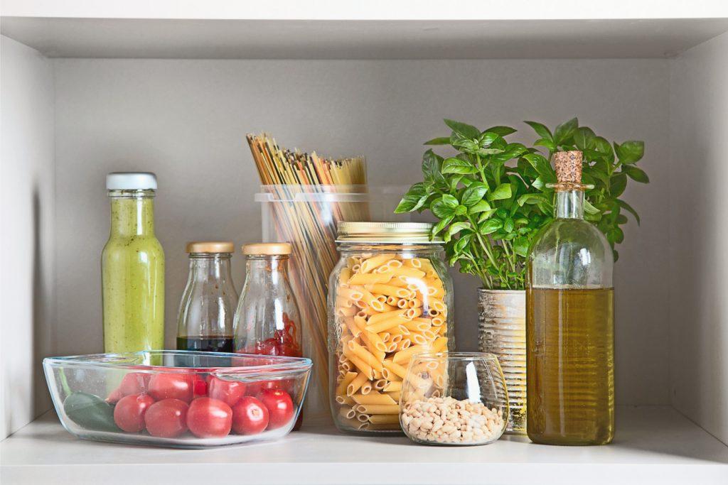 pflanzliche vorratskammer vegan pantry