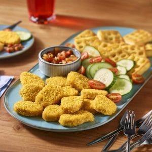 Vegane Hähnchen-Nuggets