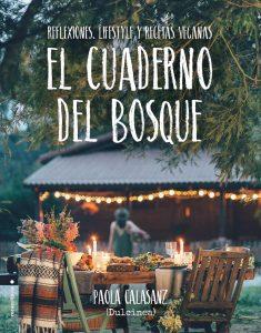 Portada del libro de Paola Calasanz en la que aparece una mesa puesta en un jardín
