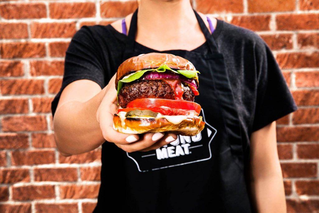 La revolucionaria hamburguesa 100 % vegetal The Beyond Burger