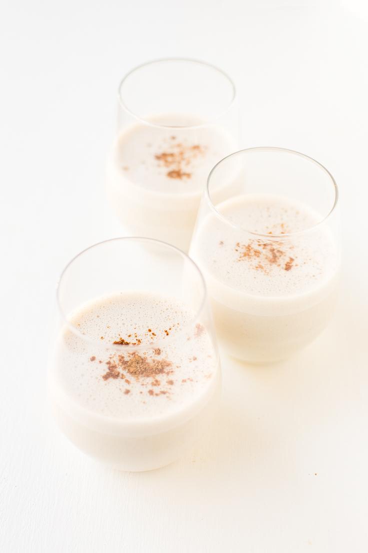 Receta de Ponche de Huevo Vegano