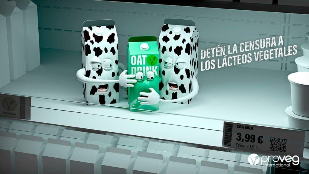 Detén la censura a los lácteos vegetales