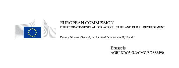 Carta respuesta Comisión Europea