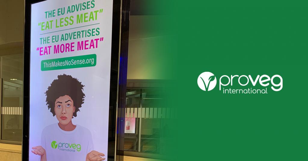 campaña proveg contra promocion de carne y lacteos