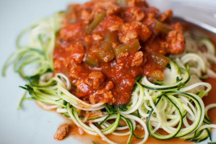 10 leukste verstopte groente-ideeen - Courgettespaghetti