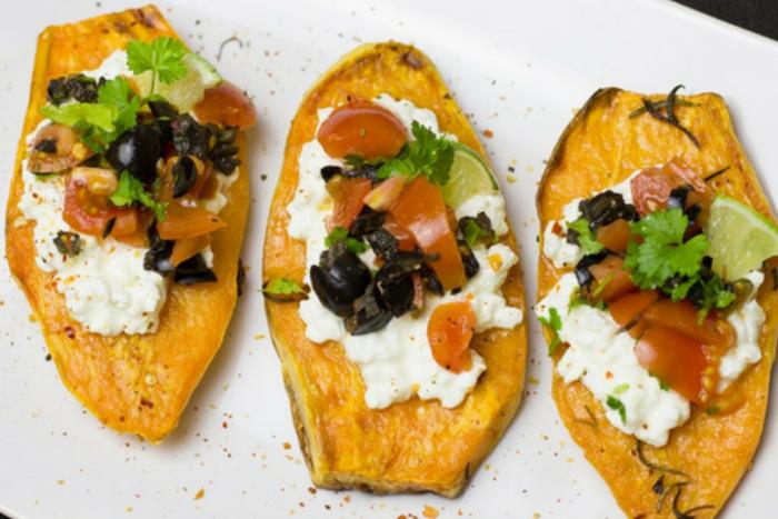 10 leukste verstopte groente-ideeen - Zoete-aardappel-toastjes