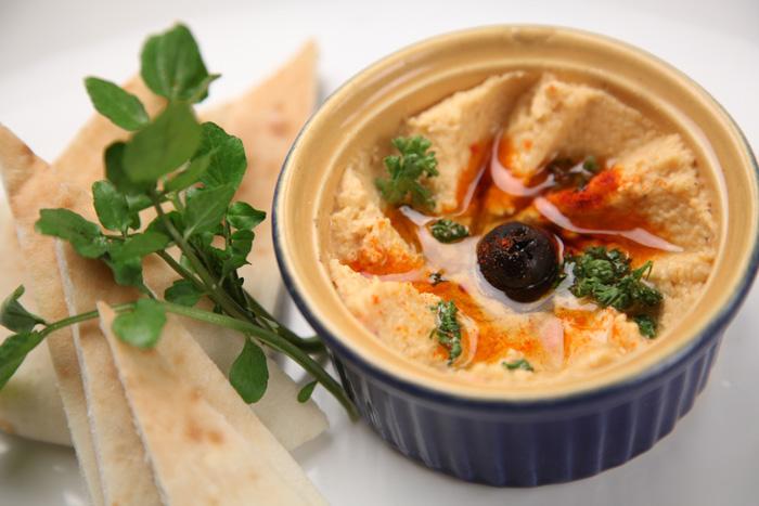 Vegan dipsaus maken: hummus