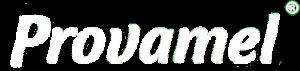 Provamel logo wit