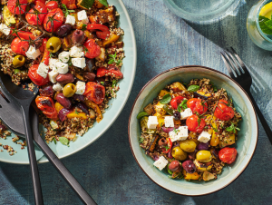 Quinoa met geroosterde groenten