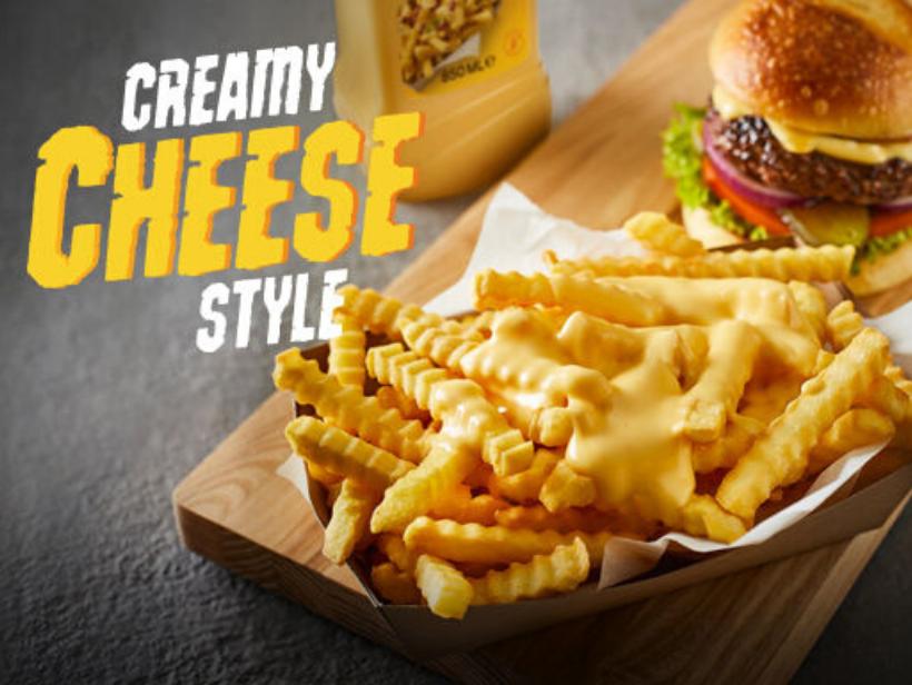 Creamy cheese style