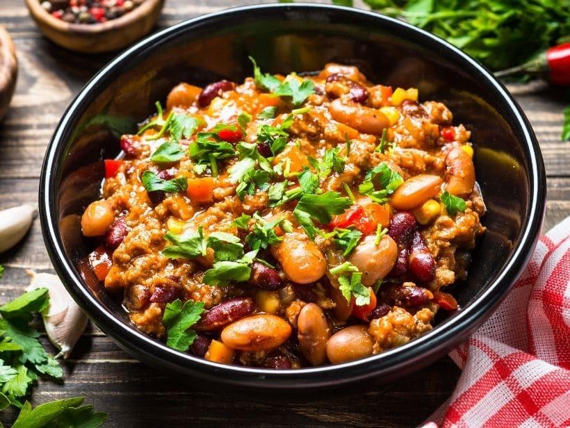a bean chilli