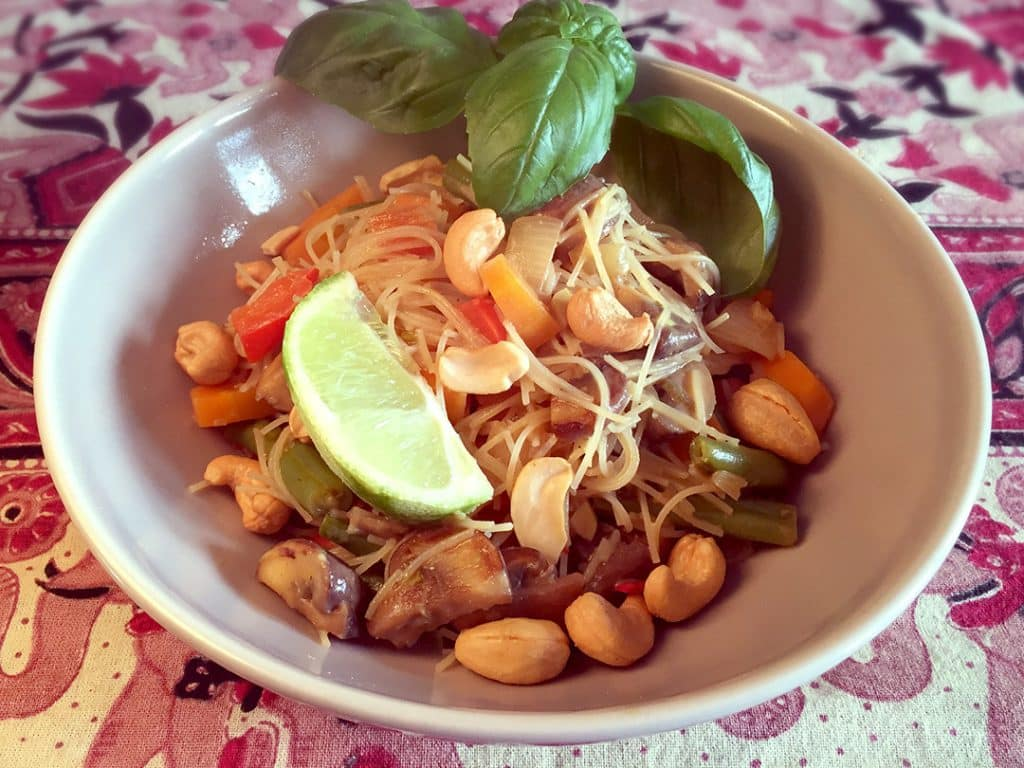 rice noodle curry