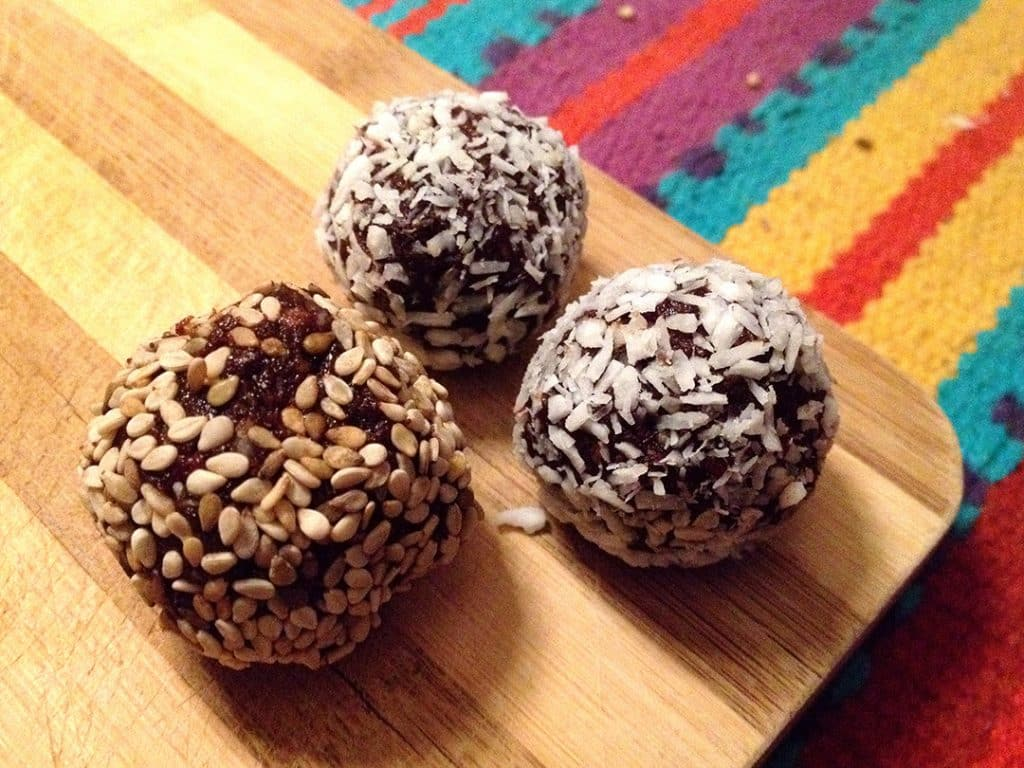 nut and date balls