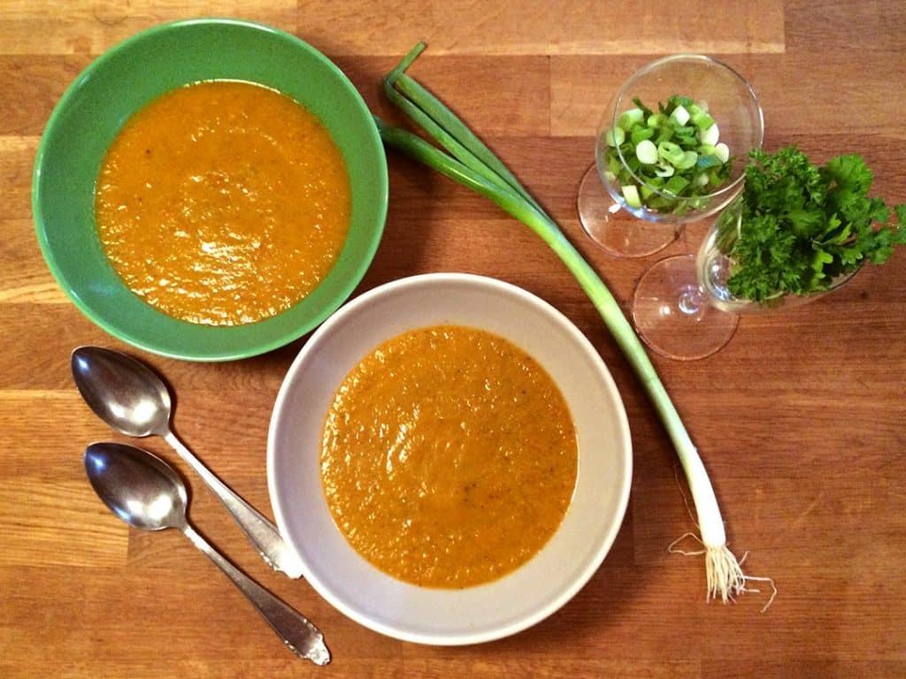 bell pepper zucchini soup