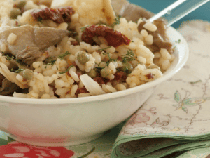 Mushroom Risotto Recipe Proveg International