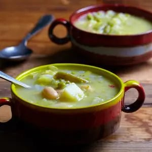 Farmer's bean soup