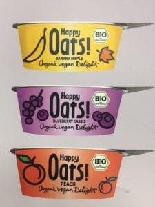 Happy oats yogurts