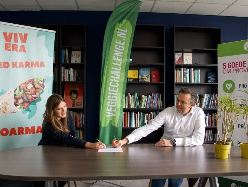 Vrindts and van Weede sign the partnership